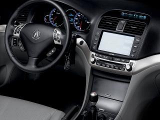 обои Acura TSX 2006 руль фото