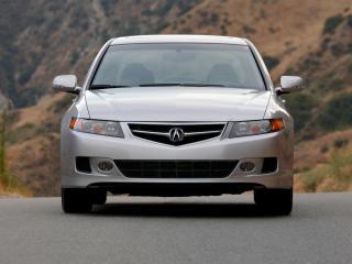 обои Acura TSX 2006 спереди фото