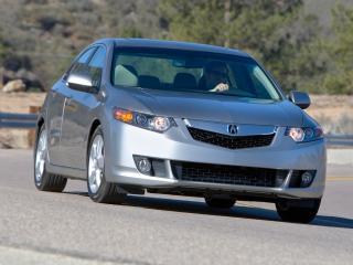 обои Acura TSX 2008 едит фото