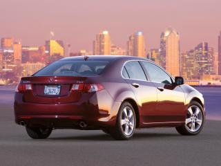 обои Acura TSX 2008 зад фото