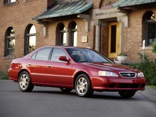 обои Acura TL 1999 бок фото
