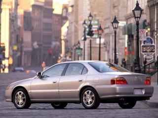 обои Acura TL 1999 город фото