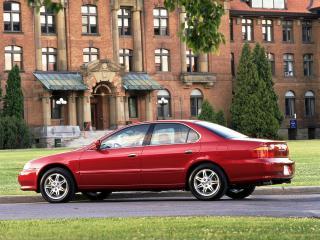 обои Acura TL 1999 дом фото