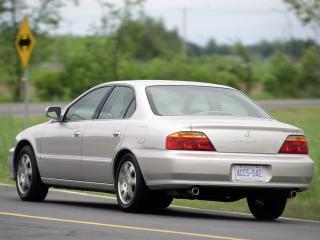 обои Acura TL 1999 зад фото
