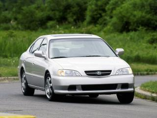обои Acura TL 1999 передок фото