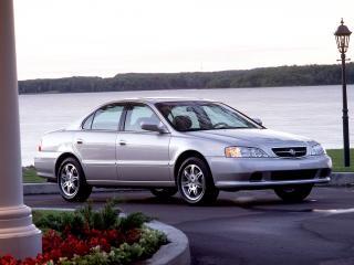 обои Acura TL 1999 река фото