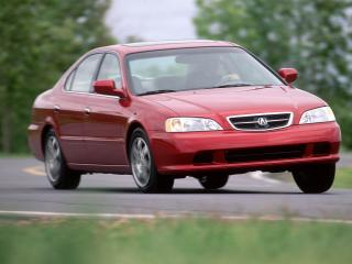 обои Acura TL 1999 скорость фото