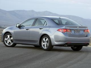 обои Acura TSX 2010 бок фото