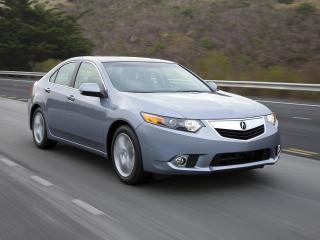 обои Acura TSX 2010 мчит фото