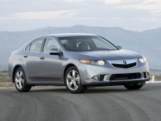 обои Acura TSX 2010 поперек фото