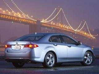 обои Acura TSX 2010 свет фото
