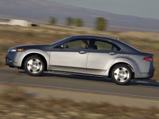 обои Acura TSX 2010 серебро фото