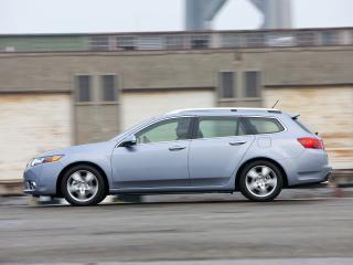 обои Acura TSX Sport Wagon 2010 бок фото