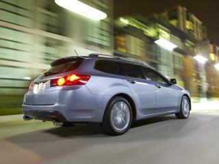 обои Acura TSX Sport Wagon 2010 боком фото