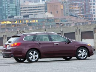 обои Acura TSX Sport Wagon 2010 в городе фото