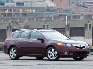 обои Acura TSX Sport Wagon 2010 городок фото