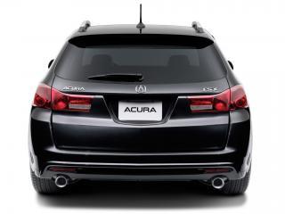 обои Acura TSX Sport Wagon 2010 зад фото