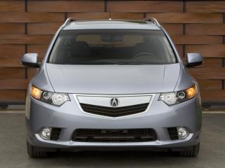 обои Acura TSX Sport Wagon 2010 капот фото