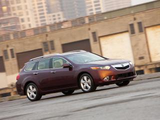 обои Acura TSX Sport Wagon 2010 мчиться фото