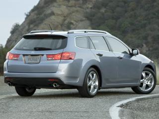 обои Acura TSX Sport Wagon 2010 поворот фото