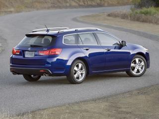 обои Acura TSX Sport Wagon 2010 поперек фото