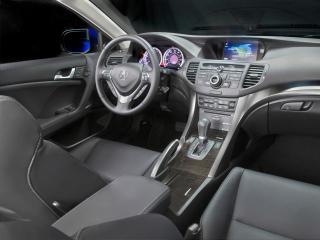 обои Acura TSX Sport Wagon 2010 руль фото