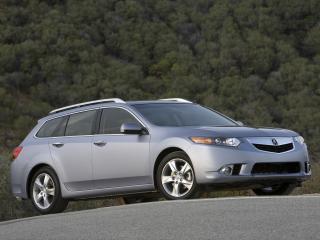 обои Acura TSX Sport Wagon 2010 сбоку фото
