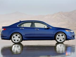 обои Acura TSX V6 2009 бок фото