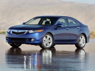 обои Acura TSX V6 2009 боком фото