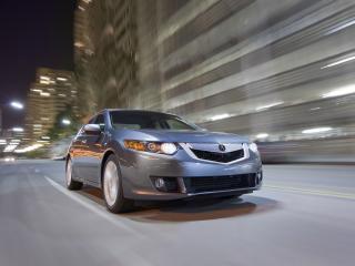 обои Acura TSX V6 2009 дорога фото