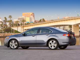 обои Acura TSX V6 2009 мост фото
