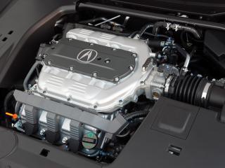 обои Acura TSX V6 2009 мотор фото