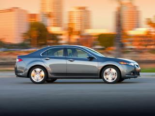 обои Acura TSX V6 2009 сбоку фото
