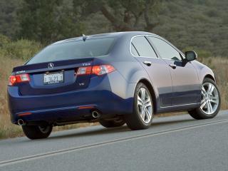 обои Acura TSX V6 2009 сзади фото