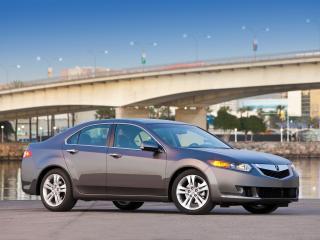 обои Acura TSX V6 2009 у моста фото