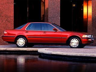обои Acura Vigor 1991 красная фото