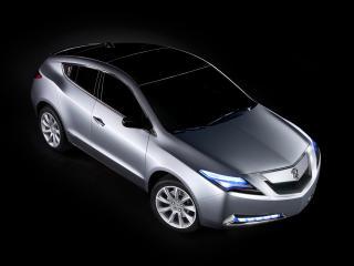 обои Acura ZDX Prototype 2009 капот фото