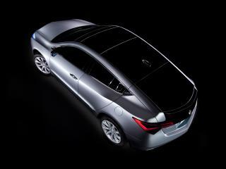 обои Acura ZDX Prototype 2009 крыша фото