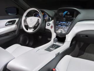 обои Acura ZDX Prototype 2009 руль фото