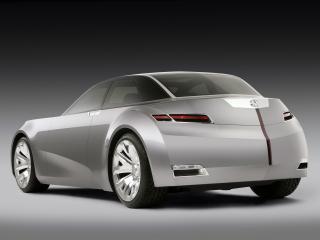 обои Acura Advanced Sedan Concept 2006 боком фото