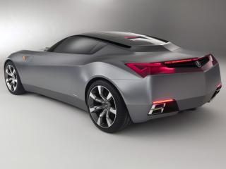обои Acura Advanced Sports Car Concept 2007 боком фото