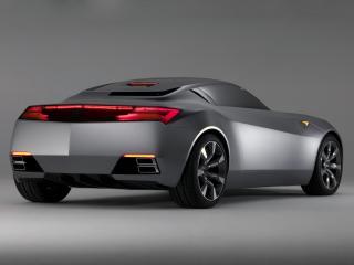 обои Acura Advanced Sports Car Concept 2007 зад фото