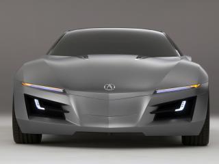обои Acura Advanced Sports Car Concept 2007 перед фото