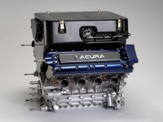 обои Acura ALMS Race Car Concept мотор фото