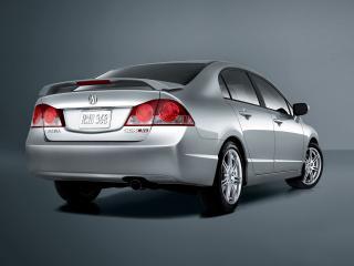 обои Acura CSX Type-S 2006 зад фото