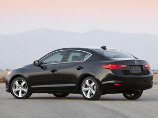 обои Acura ILX 2.4L 2012 бок черная фото