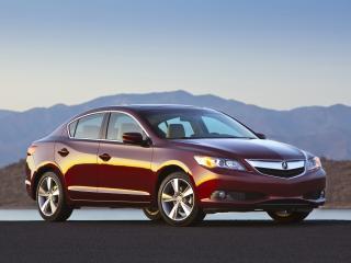 обои Acura ILX 2.4L 2012 красная фото