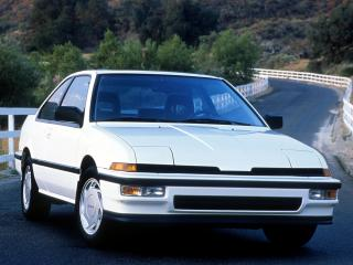 обои Acura Integra 3-door 1986 перед фото