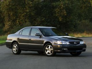 обои Acura TL 2002 бок фото