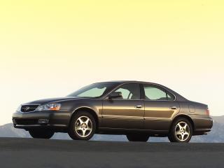 обои Acura TL 2002 вечер фото